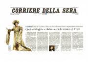"""Corriere della Sera - """"Il Tabarro/Cavalleria Rusticana"""" al Festival Puccini 2013"""